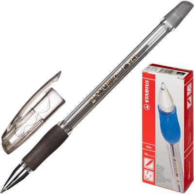 Ручка шариковая неавтоматическая Stabilo Bille 508/46 черная (толщина линии 0.38 мм)