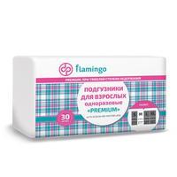 Подгузники для взрослых одноразовые Flamingo Premium M (30 штук в упаковке)