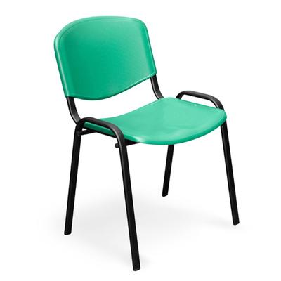 Стул офисный Изо зеленый (пластик/металл черный)
