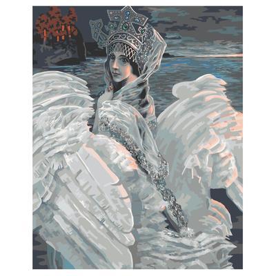 Картина по номерам Фрея Царевна-лебедь
