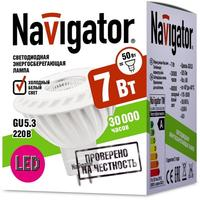 Лампа светодиодная Navigator NLL-MR16-7-230-4K-GU5.3-60D 7 Вт 4К GU5.3 (94351)