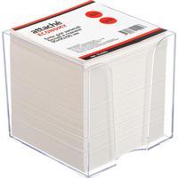 Блок для записей Attache Economy 90x90x90 мм белый в боксе  (плотность 65 г/кв.м)