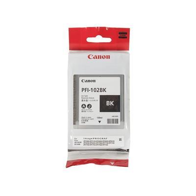 Картридж струйный Canon PFI-102BK 0895B001 черный оригинальный