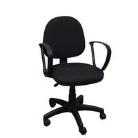 Кресло офисное Фактор черное (ткань, пластик)