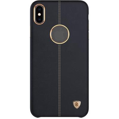 Чехол крышка для  Apple iPhone XS Max Nillkin Englon черный