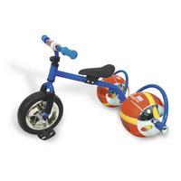 Велосипед с колесами в виде мячей Bradex Баскетбайк синий