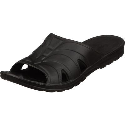 Тапочки резиновые (сланцы) мужские ЭВА черные размер 41