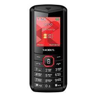 Мобильный телефон Texet TM-206D черный/красный