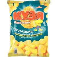 Кукурузные палочки Кузя Лакомкин с сахарной пудрой 140 г