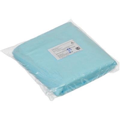 Простыня одноразовая Инмедиз нестерильная 140х70 см СМС (голубая, плотность 18 г, 10 штук в упаковке)