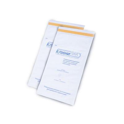 Пакет для стерилизации Клинипак для паровой/воздушной стерилизации 230x380 мм (100 штук в упаковке)