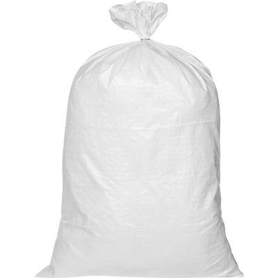 Мешок полипропиленовый высший сорт белый 70x120 см (100 штук в упаковке)