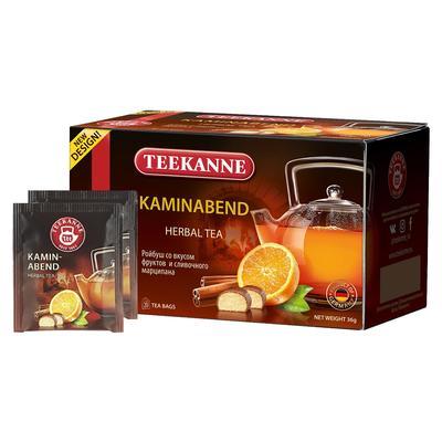Чай Teekanne Kaminabend ройбуш 20 пакетиков