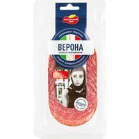 Колбаса Мясницкий ряд Верона сыровяленая нарезка 90 г