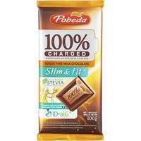 Шоколад Победа Вкуса Charged Slim and Fit молочный 100 г
