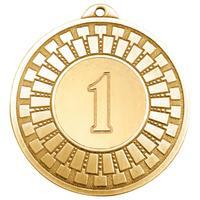 Медаль призовая 1 место 50 мм