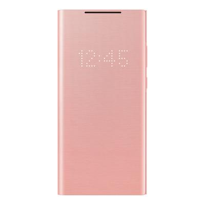 Чехол-книжка Samsung Smart LED View Cover для Galaxy Note 20 розовый (EF-NN980PAEGRU)