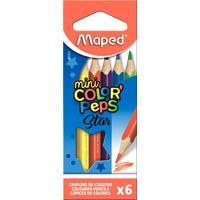Карандаши цветные Maped Maped Color'peps 6 цветов трехгранные