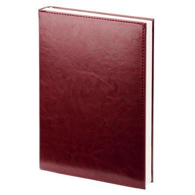 Ежедневник датированный на 2019 год Attache Agenda искусственная кожа A5 176 листов бордовый (140х200 мм)