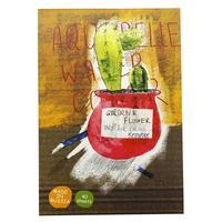Альбом для акварели Kroyter Flower А4 40 листов