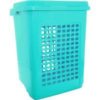 Корзина для белья Aqua 65 л пластик цвет в ассортименте (480x370x575 мм)