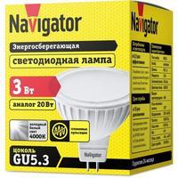 Лампа светодиодная Navigator NLL-MR16-3-230-4K-GU5.3 3 Вт 4000К GU5.3 (94127)