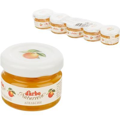 Конфитюр порционный Darbo апельсин 28 г (5 штук в упаковке)