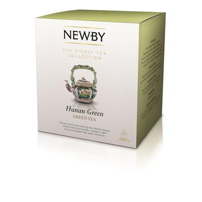 Чай Newby Hunan Green зеленый 15 пакетиков
