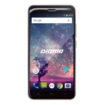 Смартфон Digma G501 4G VOX 16 Гб черный/серебристый