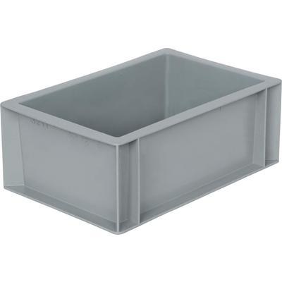 Ящик (лоток) универсальный полипропиленовый 300х200х120 мм серый
