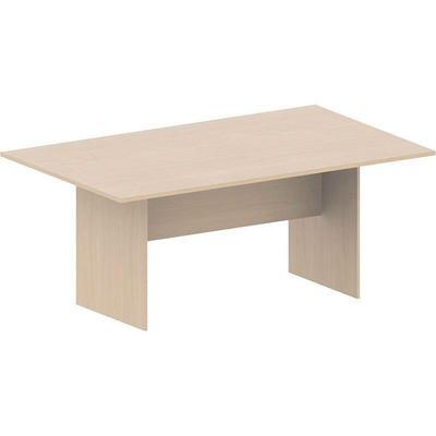Стол для переговоров МК Логика (ясень шимо светлый, 1800х1100х755 мм)