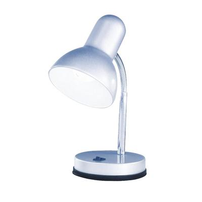 Светильник настольный Globo Basic 2487 серебристый