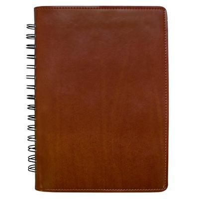 Ежедневник недатированный искусственная кожа A5 176 листов коричневый (160х225 мм)