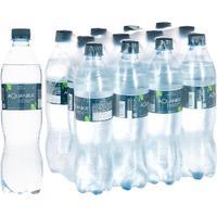 Вода минеральная Акваника премиум газированная 0.618 л (12 штук в упаковке)