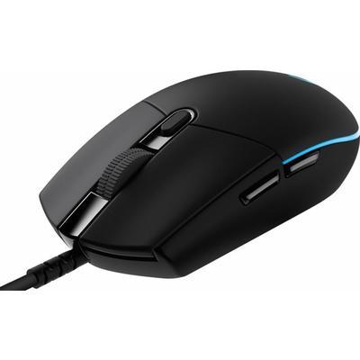 Мышь компьютерная Logitech G Pro черная (910-005440)