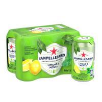 Напиток S.Pellegrino лимон-мята 0.33 л (6 штук в упаковке)