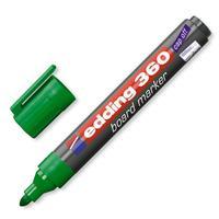 Маркер для досок Edding e-360/4 зеленый (толщина линии 1.5-3 мм)