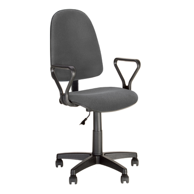 Кресло офисное Prestige GTP J RU серое (ткань/пластик)