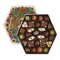 Подарочный набор шоколадных конфет Красный октябрь Дом Романовых 300 г