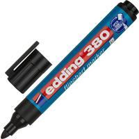 Маркер для бумаги для флипчартов Edding E-380/1 черный (толщина линии 2.2 мм) круглый наконечник