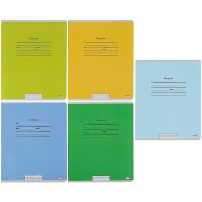 Тетрадь школьная Проф-пресс Учусь на отлично-2 А5 12 листов в косую линейку (обложка в ассортименте)