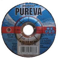 Круг шлифовальный по стали 125х6.0 мм Pureva 431383