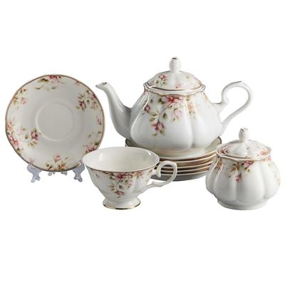 Сервиз чайный Beatrix Сицилия на 6 персон фарфор (14 предметов)