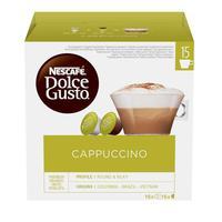 Кофе в капсулах для кофемашин Nescafe Dolce Gusto Капучино (30 штук в упаковке)