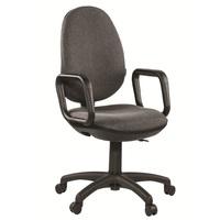 Кресло офисное Easy Chair Comfort GTP серое (ткань, пластик)