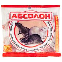 Средство от грызунов Абсолон брикеты парафинированные 100 г
