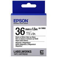 Картридж Epson LK-7WB2 для принтеров Epson LabelWorks (C53S657002)