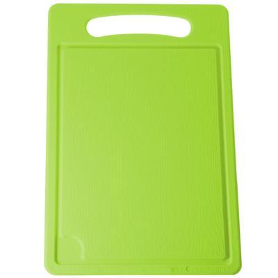 Доска разделочная пластиковая Plastic Centre 450x290x7 мм зеленая (артикул производителя ПЦ1495)