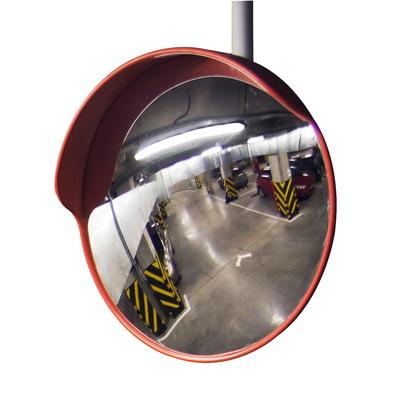 Зеркало дорожное круглое с козырьком, диаметр 600 мм