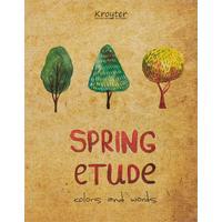 Тетрадь общая Kroyter Spring Etude А5 48 листов в клетку на скрепке